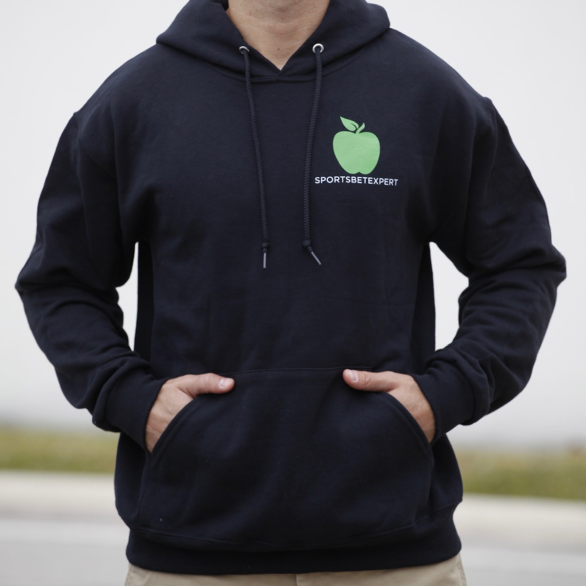 You Got To Have Brains But You Got To Have Balls - Black Hooded Sweatshirt - Front with Logo